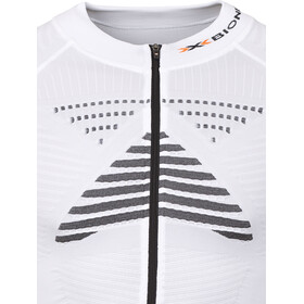 X-Bionic Effektor Power Fahrrad Trikot SS Full-Zip Herren white/black